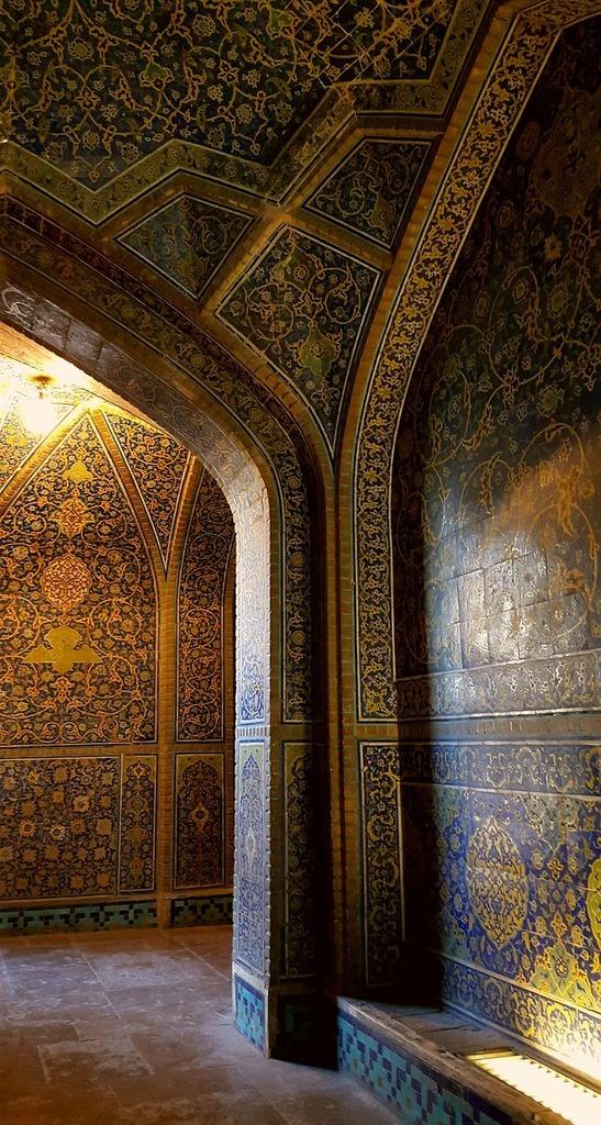 Iran isfahan mosque.