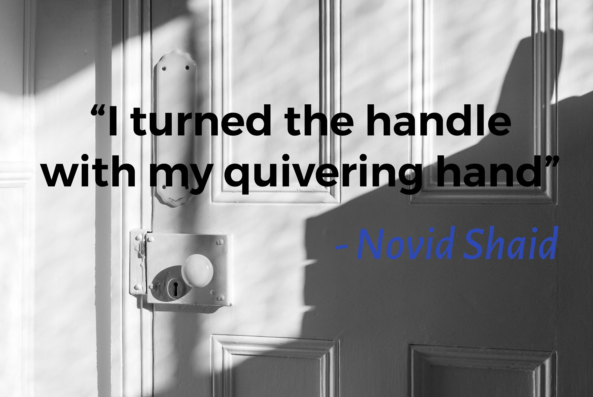 The Homecoming of my old friend – Novid Shaid