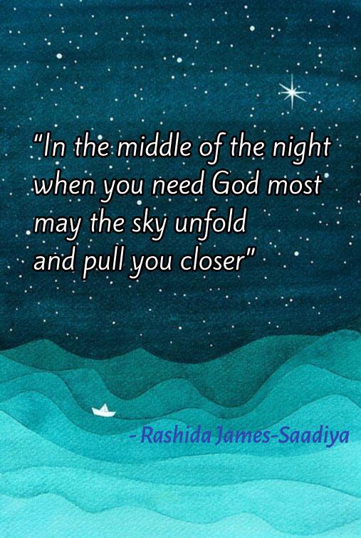 Shukr bil-Lisan [Thankfulness of the Tongue]– Rashida James-Saadiya