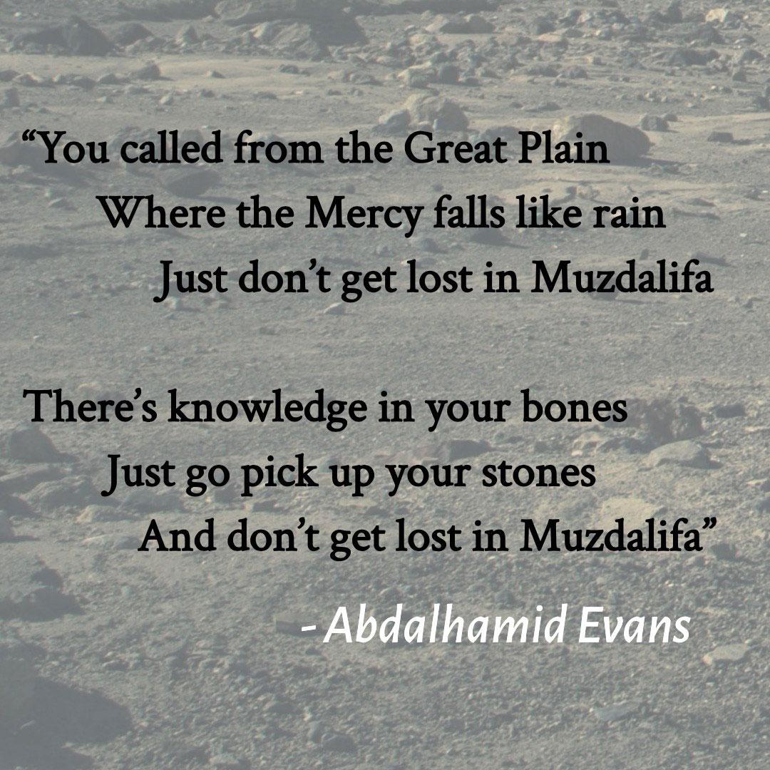 Muzdalifa – Abdalhamid Evans
