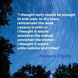 Sorry – Muneera Pilgrim
