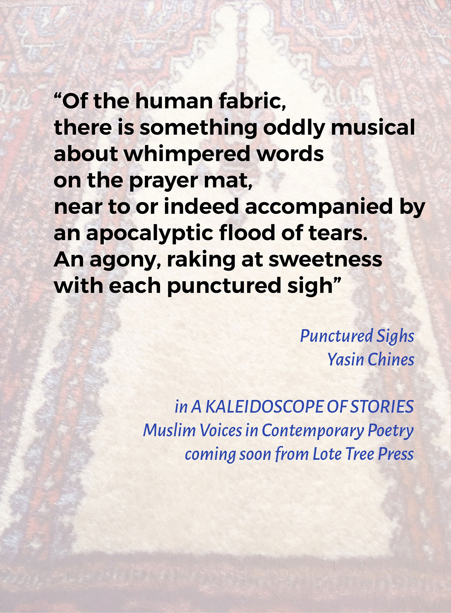 Punctured Sighs – Yasin Chines