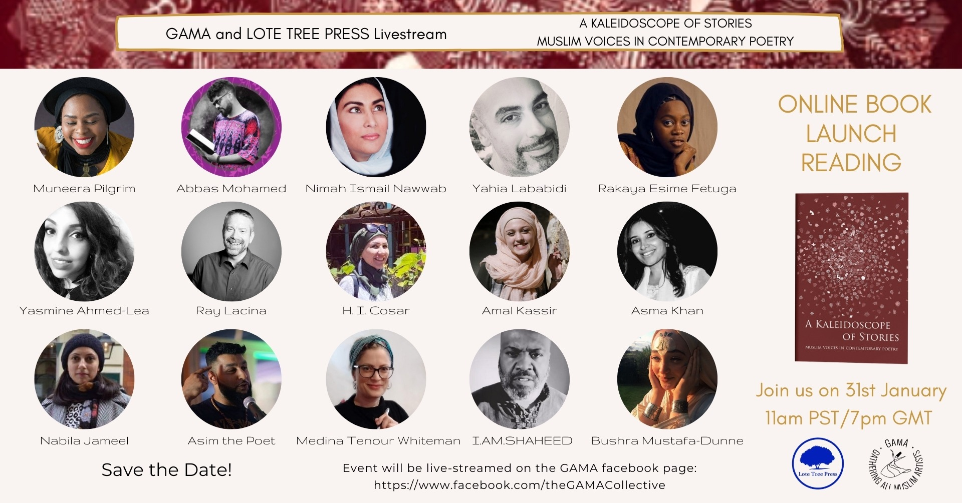 A Kaleidoscope of Stories Online Launch